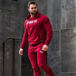 $enCountryForm.capitalKeyWord Australia - Sport Suit Joggers Running Gym Clothing Men Set Autumn Winter Fitness Bodybuilding Sport wear Mens Hoodied+Pants Body Track Suit