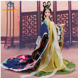 $enCountryForm.capitalKeyWord Australia - LeadingStar 2017 New Doll Clothes Traditional Chinese Classical Style Costume Chinese Ancient Mythological Clothes zk15