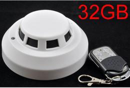 $enCountryForm.capitalKeyWord Canada - 32GB Remote Control Smoke Detector Camera Mini Camcorder Security & Surveillance Cameras H.264 720P Video Camera Night