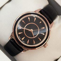 Marca casual online shopping - 2018 Brand new model Fashion women genuine leather Luxury wristwatch Female clock japan movement watch Quartz Clock Relojes De Marca Mujer