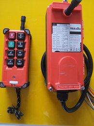 crane radio remote control UK - Telecrance F21-E1B Industrial radio remote control for crane and hoist VHF:310-331MHZ 65-440V