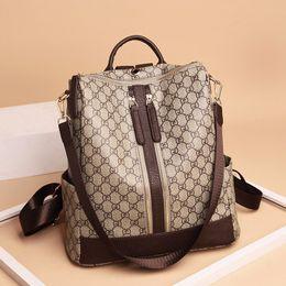 Discount luggages bag - Luxury Backpacks Casual Women Handbag Zipper Brand Designer Bags School Luggages High Quality Fashion Shoulder Bag Tote