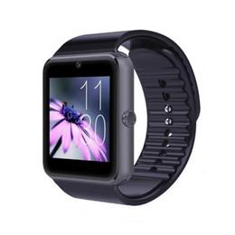 Bluetooth Smart Watch Sim Australia - Bluetooth Smart Watch GT08 with SIM Card TF Memory Card Slot Camera Music Play Sleep Monitor Pedometer for Android Smart Phone