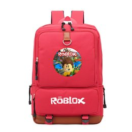 Discount laptop children - Roblox Game Casual Backpack for teenagers Kids Boys Children Student School Book Bags travel Shoulder Bag Unisex Laptop