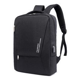 Train Usb UK - Men's USB Charging Backpack Multifunction Laptop Computer Bags Male Outdoor Sports Fitness Running Tourism Camping Training Bags