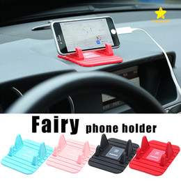 Discount remax car phone holder - Remax Phone Holder Fairy Stand Holder Car Bracket for all Mobile Phone GPS with Retail Package