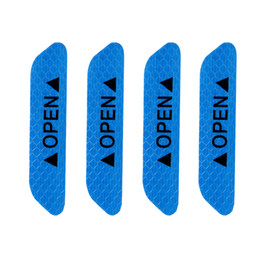 Reflective caR stickeRs online shopping - 4Pcs set OPEN Car Door Stickers Auto Warning Mark Reflective Strips Tail Rear Reflective Tape Driving Safety