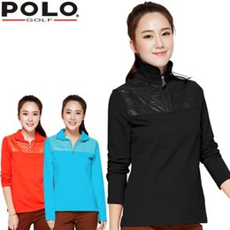polo sport clothes 2019 - brand POLO. women's golf clothes golf T shirt short-sleeve polo shirt for Spring and Aut, Women Workout Polo sports