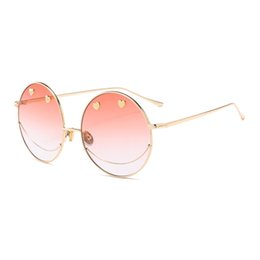 fe4ad252da9 Fashion Round Sunglasses Women Mens Brand Designer Vintage Ladies Sun  Glasses for Club Goggles Luxury Oculos Shades 18643DF