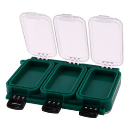 Sports & Entertainment Fish Lures Hard Cases 14 Compartments Double Sided Spinner Plastic Useful Multi-function Fly Fishing Tackle Box Storage Tool Warm And Windproof