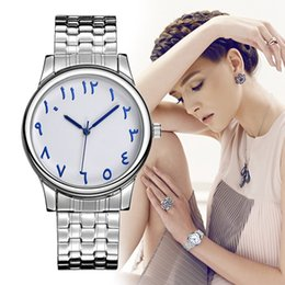 $enCountryForm.capitalKeyWord Canada - BAOSAILI Full Stainless Steel Arab Numbers Women Bracelet Watch Small Dial Watches For Women Clock Elastic Quartz Wristwatch