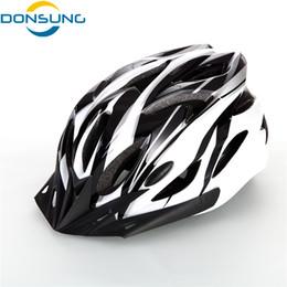 Men Cycling Helmets Canada - BYDONSUNG Bicycle Helmets Men Women Helmet Mountain Road Bike Integrally Molded Cycling Helmets Bicicleta e Ciclismo
