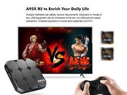Smart Box Wifi NZ - Android Box TV A95X R2 Amlogic S905W Quad-core Smart TV Box 2GB 16GB HDMI2.0 4Kx2K HD 2.4G Wifi Streaming Media Player
