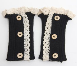Wholesale Knit Lace Socks Boot Socks Stockings Autumn Winter Leg Warmers Cuffs Sock for Women Chritsmas Gifts Drop Shipping