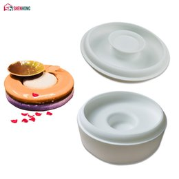 Discount big cake silicone mold - SHENHONG Big Button Silicone Cake Mold For Baking Pastry Mould Dessert Mousse Pan Chocolates Moule Bakeware Home Party H
