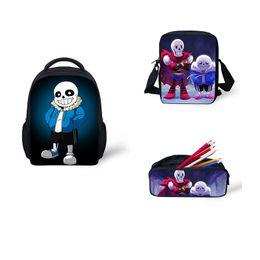 $enCountryForm.capitalKeyWord Canada - Undertale Cosplay Backpack 3Pcs Set for Teenage Kids Girls Boys School bags Book Bag Women Travel Bag Children school supplies