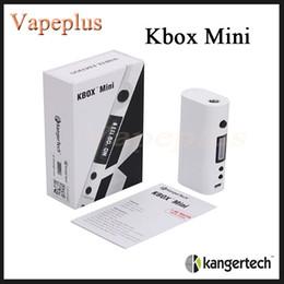 $enCountryForm.capitalKeyWord NZ - Original Kanger Kbox Mini Box Mod 50W VW Passthrough Battery Function Kangertech K box mini fit Subtank