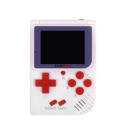 handheld mini games 2019 - CoolBaby RS-6 Portable Retro Mini Handheld Game Console 8 Bit Color 2.5 inch LCD Game Player For FC Game Free DHL discou