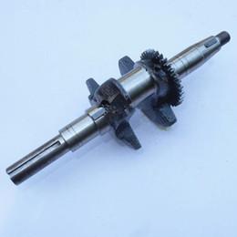 "Discount crankshaft engine - Genuine crankshaft for Mitsubishi GT600 GM182 6HP engine crank 19 shaft 3"" water pump main shaft"