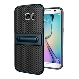 Discount carbon fibre cases for iphone - For Iphone X 7plus 7 6 Plus Samsung Galaxy Note 8 S8 Plus Carbon Fibre Kickstand Defender Armor Cell Phone Cases