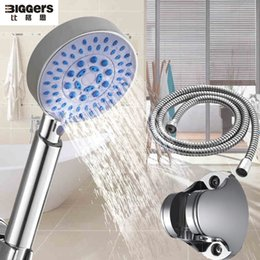 $enCountryForm.capitalKeyWord NZ - Free shipping,bathroom hand shower set multifunctional water-saving shower head with stainless steel hose and supports