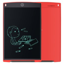 Home Office Electronics NZ - Red 12 inch LCD Writing Tablet Drawing Board Electronic Blackboard Slate Draft Doodle Jot Memo Notes Sketch Pad for Home Office School