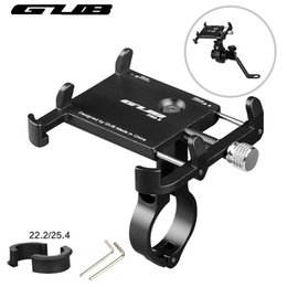 Wholesale GUB Aluminum Universal Bicycle Phone Mount Holder MTB Mountain Bike Motorcycle Handlebar Clip Stand for quot to quot smartphones