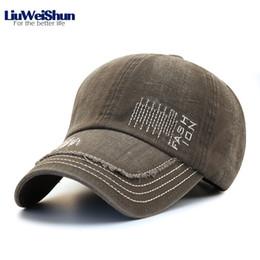 Washed Make-Old Baseball Caps Fashion Letter Embroidery Retro Baseball Caps  Cotton Visor Sunscreen Cap Casual Adjustable Hat Men 316c37a0800