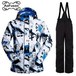 $enCountryForm.capitalKeyWord Australia - Brand Ski Suits male Snowboarding Sets Winter Sport Outdoor men Snowboard Snow Wear waterproof Ski Jackets Pants coat 2018