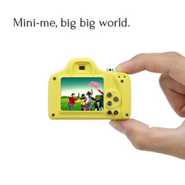 full frame camera UK - Mini 1.5 Inch 2MP Kids Digital Camera Children LSR Cam Camera Support SD Card for kid gift colorful