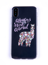 TransparenT cuTe carToon case online shopping - Cute Cartoon Animal Pattern Clear Phone Case For iPhone s se S plus plus s plus X and Samsung