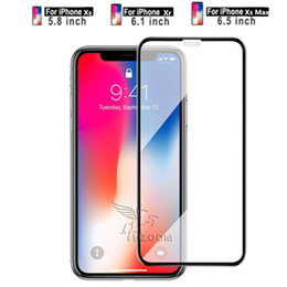 $enCountryForm.capitalKeyWord Australia - New Tempered Glass Screen Protector Full Protective Design 3D Coverage Bubble Free for iPhone Xs Max Xr X 8plus 7 6 plus Without Packing