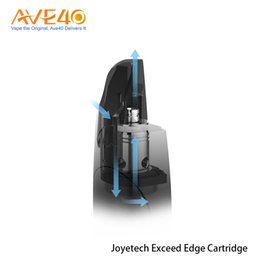 Chinese  5pcs Joyetech Exceed Edge Cartridge 2ml for Exceed Edge starter kit High Quality Electronic Cigarette Spare Part 100% Original manufacturers