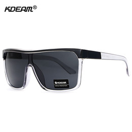 8449625f8b9 Kdeam Flying Sunglasses Shield Oversized Sun Glasses Men UV400 Skate  Steampunk Goggles masculino CE With Box