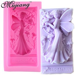 $enCountryForm.capitalKeyWord NZ - wholesale Fairy Angel Handmade Soap Mold Cake Baking Silicone Molds Fondant Cake Decorating 3D Craft Chocolate Candy Moulds