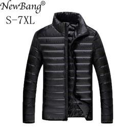 $enCountryForm.capitalKeyWord Canada - NewBang 5XL 6XL 7XL Duck Down Jacket Men Winter Parkas Men's Feather Ultralight Down Jackets Outwear Plus With Carry Bag