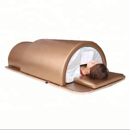 infrared beds UK - High quality Newest Infrared sauna bed for body slimming ovary care sauna infrared dome