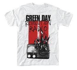 $enCountryForm.capitalKeyWord Australia - Green Day Radio Combustion Revolution Radio Licensed Tee T-Shirt Men knitted comfortable fabric street style men t-shirt top Quality Cotton