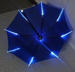 $enCountryForm.capitalKeyWord NZ - 7 Colors Changing Color LED Luminous Transparent Umbrella Rain Kids Women with Flashlight For Friends Best Gift 2018 hot new