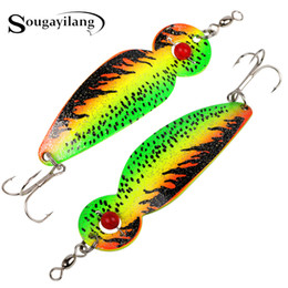 trout jigs 2019 - Lures Sougayilang 15cm 30g Hard Fishing Lure Peche Ice Artificial Spoon Spinner Bait Trout Sea Swimbait Metal Lure for F