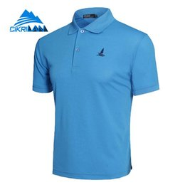 1cd3be2a1 Outdoor Sport Hiking Climbing Fishing T Shirt Basketball Running Polo Shirt  Men Soccer Camiseta Quick Dry Fitness Soccer Shirts