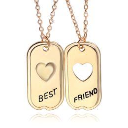 Pendant best friends forever online shopping - Best Friends Jewelry Best Friend Forever BBF For Rectangle Pendant Necklace Jewelry For Women Men Gift