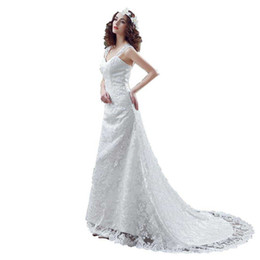 bridal robe sleeveless UK - Robe De Mariee Beach Boho Wedding Dresses 2018 New Arrival Lace Cap Sleeves Bride Dresses Bridal Gown Plus Size