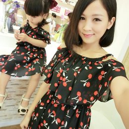 $enCountryForm.capitalKeyWord Canada - 1pc Mother Daughter Dresses Clothes Family Matching Summer Outfits Mom Girl Fashion Short Floral Sets Vetement Maman Et Fille