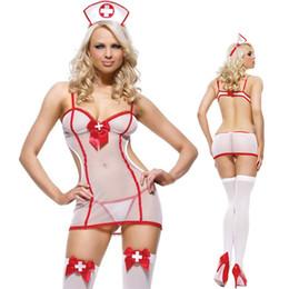 $enCountryForm.capitalKeyWord NZ - New Porn Women Babydoll Underwear Chemises Lingerie Sexy Hot Erotic Sexy Uniform Nurse Cosplay Sexy Costumes Halloween Role Play