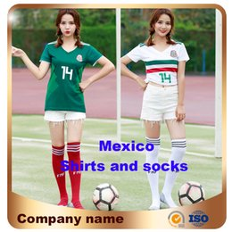 8129c012c Girls world cup football online shopping - 2018 World Cup Woman Mexico  soccer Jersey home away