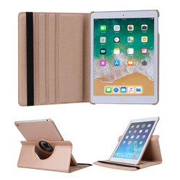 tablets case 9.7 Canada - 360 Degrees Rotating PU Leather Flip Cover Case for iPad pro 9.7 10.5 Case Stand Cases Smart Tablet ipad Air
