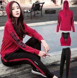 2fd2edddcca78 Discount xxxl plus size yoga pants - Fitness clothes set autumn and winter  new yoga clothes