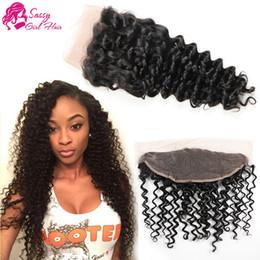 $enCountryForm.capitalKeyWord Australia - Lace Frontal 13x4 Peruvian Deep Wave Weave Closure Human Hair Vendors Peruvian Virgin Hair Closure Baby Hair For Sale SASSY GIRL