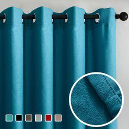 $enCountryForm.capitalKeyWord Australia - Modern Top Finel Solid Blackout Curtains For Living Room Bedroom Velvet Fabrics For Curtain Window Treatments Cortinas Drapes Children